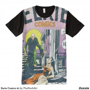 Eerie Comics #1 All Over Print Shirt